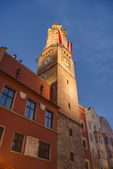The City Tower in Innsbruck, Austria. — Stock Photo