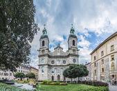 Katedra świętego jakuba w innsbruck, austria. — Zdjęcie stockowe