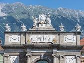 Triumphal Arch in Innsbruck, Austria. — Stock Photo