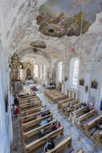 Church of Saint Margaret in Oberperfuss, Austria. — Stock Photo