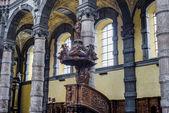 Saint Loup church in Namur, Belgium. — Stock Photo