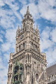 Neues Rathaus building in Munich, Germany — Stock Photo