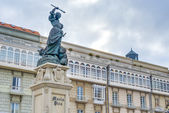 Monument to Maria Pita, A Coruna, Galicia, Spain. — Stock Photo