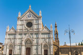 The Basilica of the Holy Cross in Florence, Italy — Stock Photo