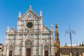 フィレンツェ、イタリアの神聖な十字のバシリカ — ストック写真
