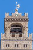 イタリア フィレンツェ市庁舎パラッツォ ヴェッキオ. — ストック写真