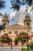 Church in Cafayate in Salta Argentina. — Stock fotografie