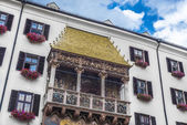 The Golden Roof in Innsbruck, Austria. — Foto de Stock