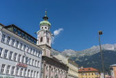 The Spital church in Innsbruck, Austria — Foto de Stock