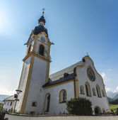 Church of Saint Margaret in Oberperfuss, Austria. — Foto de Stock