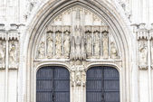 St. Michael and St. Gudula in Brussels, Belgium. — Stock Photo