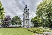 Belfry of Mons in Belgium. — Stock fotografie