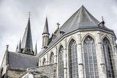 Saint-Jacques church in Tournai, Belgium. — ストック写真