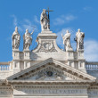 Archbasilicof St. John Laterin Rome, Italy — Stock Photo #41513937