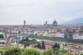 Florence's as seen from Piazzale Michelangelo, Italy — ストック写真