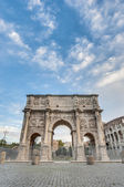 Arch of Constantine in Rome, Italy — Stock Photo