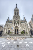 Mar del Plata's Cathedral, Buenos Aires, Argentina — Foto Stock