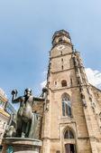シュトゥットガルト、ドイツの教会 — ストック写真