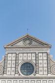 Kościoła santa maria novella we florencji, włochy — Zdjęcie stockowe