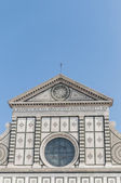 Kostel santa maria novella ve florencii, itálie — Stock fotografie