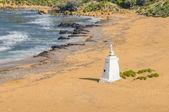 Ramla Beach on the northern side of Gozo, Malta — Stock Photo