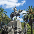 Stock Photo: 9 de Julio Square in Salta, Argentina