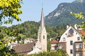 Saint Nicholas parish church in Innsbruck, Austria — Stock fotografie