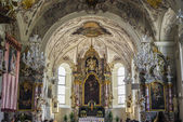 Church of Saint Margaret in Oberperfuss, Austria. — Stockfoto