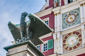 Old Town Hall in Esslingen Am Nechar, Germany — Stock Photo