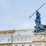 ������, ������: Monument to Maria Pita A Coruna Galicia Spain
