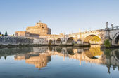 Castel Sant Angelo in Parco Adriano, Rome, Italy — Stock Photo