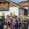 Stock Photo: MariAscension procession Oberperfuss, Austria.