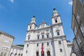 The Salzburg Cathedral (Salzburger Dom) at Salzburg, Austria — ストック写真