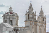 Saint Paul's Cathedral in Mdina, Malta — Stockfoto