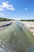 Calchaqui River in Salta, northern Argentina. — Stock Photo