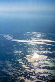 Parana river delta in Argentina. — Stock Photo