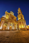 San Francisco in the city of Salta, Argentina — Foto de Stock