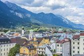 Vista generale di innsbruck in austria occidentale. — Foto Stock