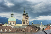 Cathedral of St. James in Innsbruck, Austria. — Photo