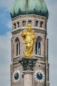 The Mariensaule column in Munich, Germany. — Foto Stock