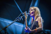 "Amelie performs at the ""Hard Rock Rocks La Merce"" concert within — Foto de Stock"