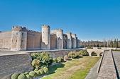Palác aljaferia v zaragoza, španělsko — Stock fotografie