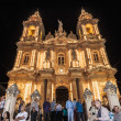 Santa Marija Assunta procession in Gudja, Malta. — Stock Photo