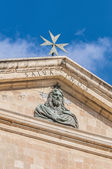 Saint John's Co-Cathedral in Valletta, Malta — ストック写真