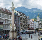 Saint Anne Column in Innsbruck, Austria. — Stock Photo