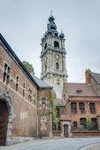 Belfry of Mons in Belgium. — Stockfoto