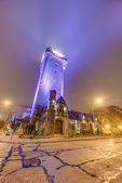 Water Tank Tower in Mar del Plata, Argentina — Stock Photo
