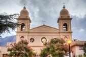 Church in Cafayate in Salta Argentina. — Stock Photo