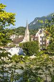 Saint Nicholas parish church in Innsbruck, Austria — Foto Stock