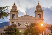 Church in Cafayate in Salta Argentina. — Stockfoto